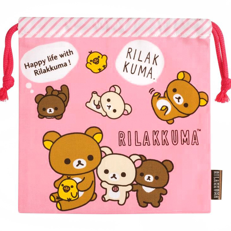 boutique kawaii shop chezfee japan pochon coton sac vrac sanx rilakkuma 1