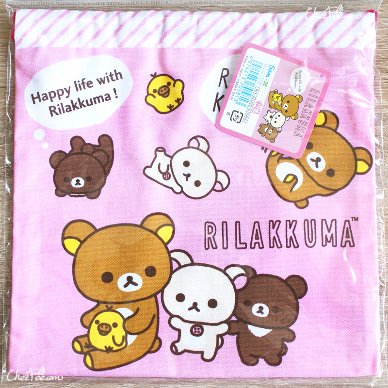 boutique kawaii shop chezfee japan pochon coton sac vrac sanx rilakkuma 2