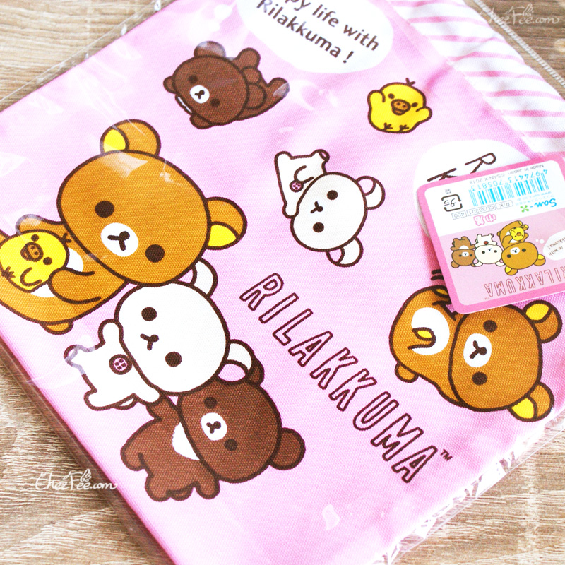 boutique kawaii shop chezfee japan pochon coton sac vrac sanx rilakkuma 4