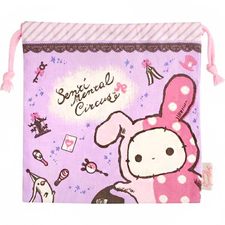 boutique kawaii shop chezfee japan pochon coton sac vrac sanx sentimental circus 1