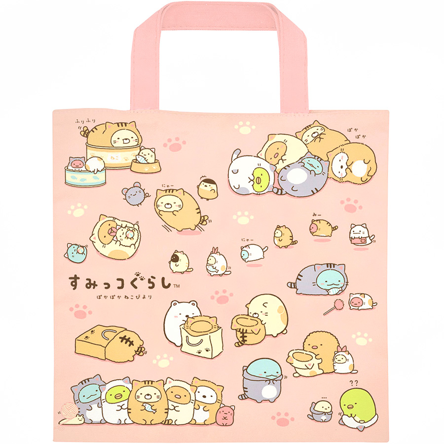 boutique kawaii shop chezfee japan tote bag coton sac vrac sanx sumikko gurashi neko 4