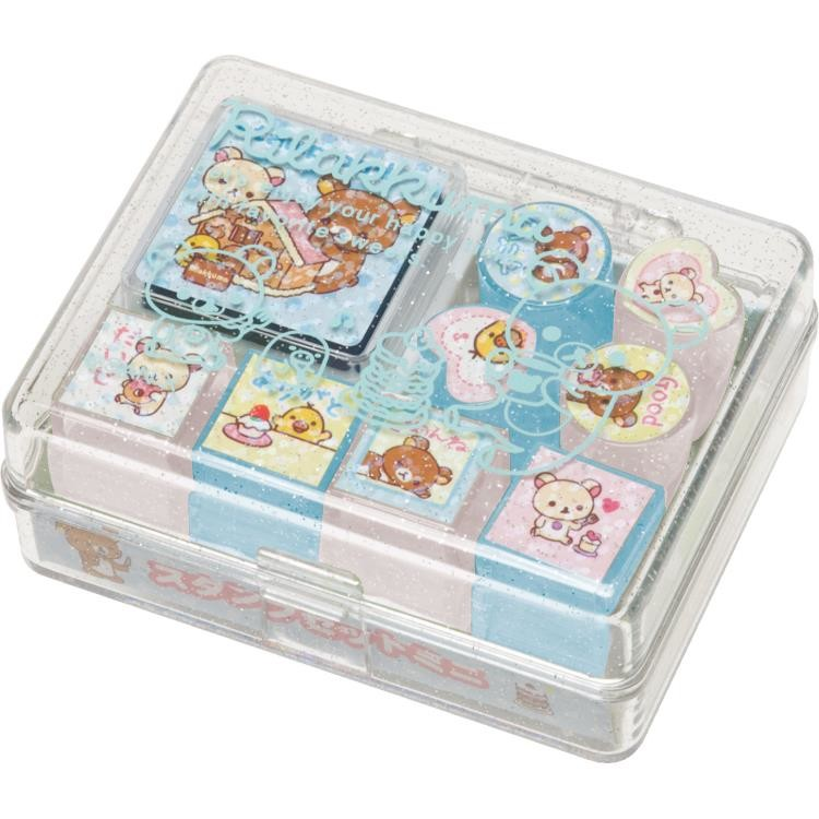 boutique kawaii shop france sanx rilakkuma tampon stamp gateaux 1