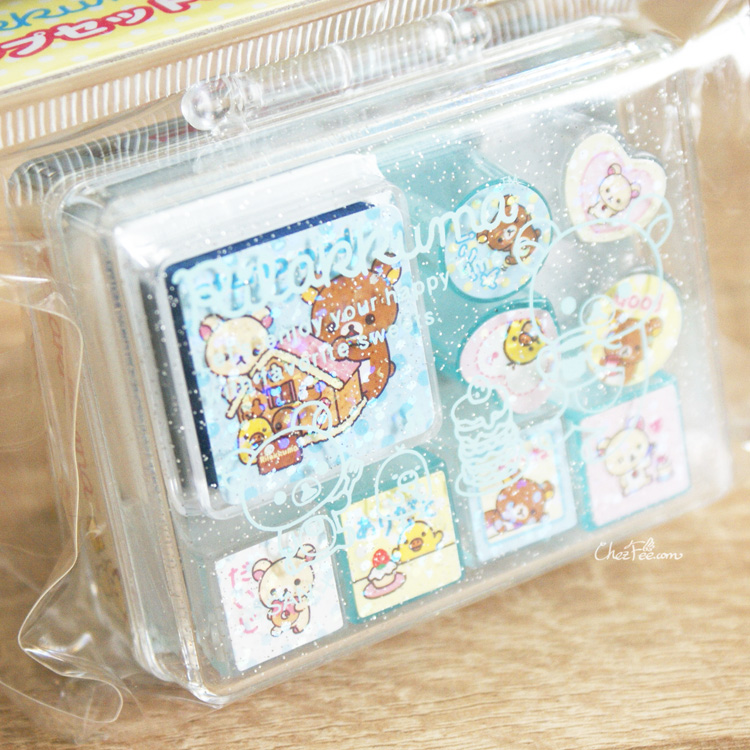 boutique kawaii shop france sanx rilakkuma tampon stamp gateaux 2