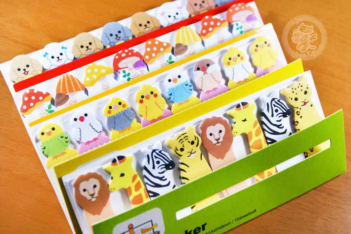 papeterie magasin boutique kawaii shop en ligne chezfee com post it kawaii animal mignon3