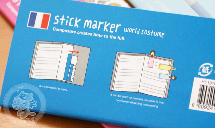 sticky note kawaii costume monde mignon 8en1 papeterie magasin chezfee4