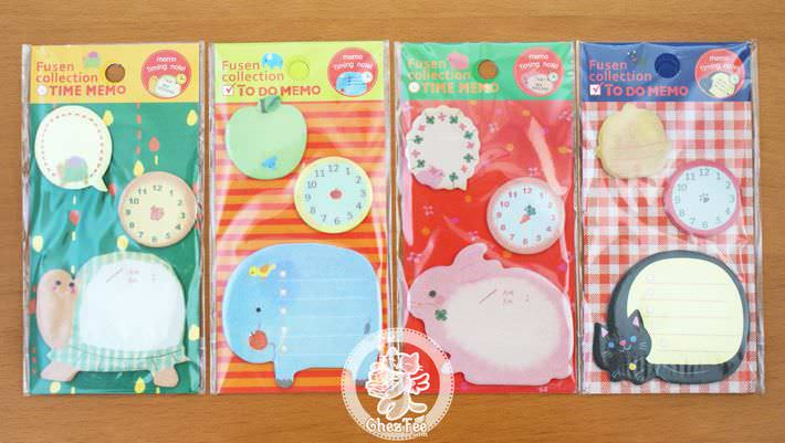 sticky-note-kawaii-animal-heure-magasin-papeterie-mignon-chezfee1