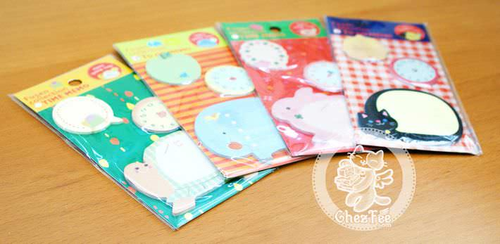 sticky-note-kawaii-animal-heure-magasin-papeterie-mignon-chezfee3