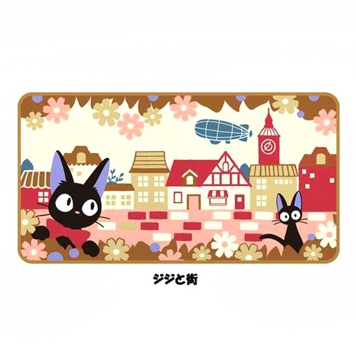 boutique kawaii shop chezfee france studio ghibli couverture polaire jiji chat noir 4