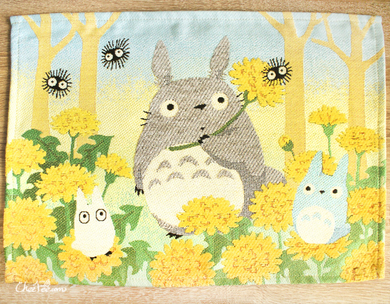boutique kawaii shop france chezfee sous assiette nappe ghibli officiel totoro fleur 1