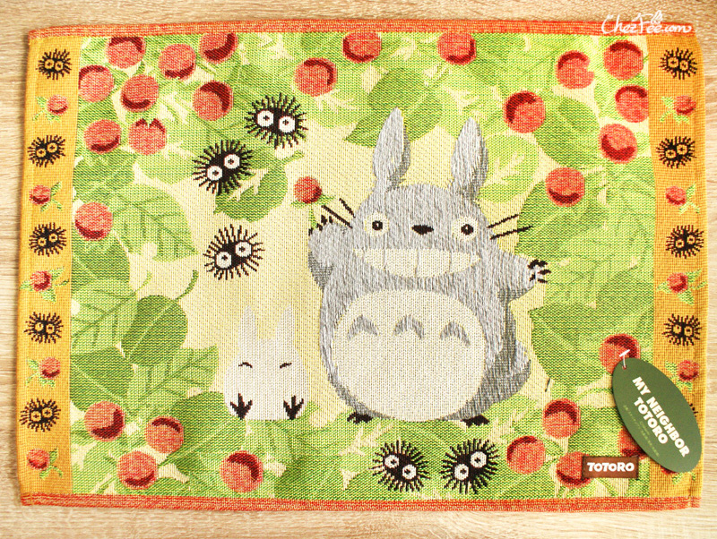 boutique kawaii shop france chezfee sous assiette nappe ghibli officiel totoro recolte 1
