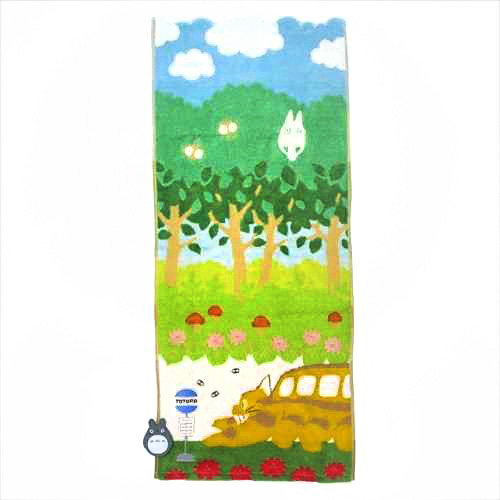 boutique kawaii shop france chezfee studio ghibli officiel totoro serviette chat bus 1