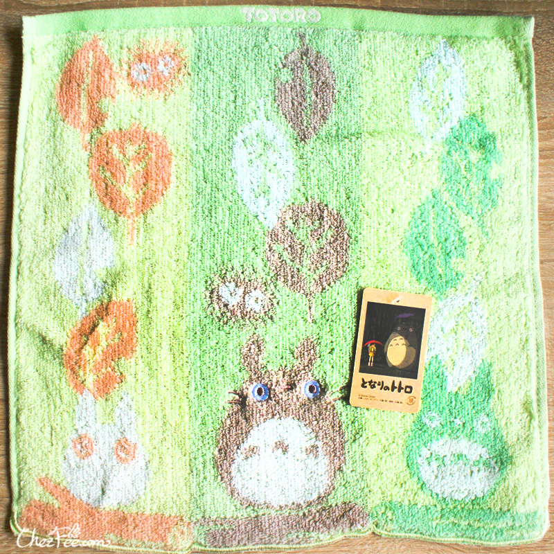 boutique kawaii shop france chezfee studio ghibli officiel totoro serviette feuille 1