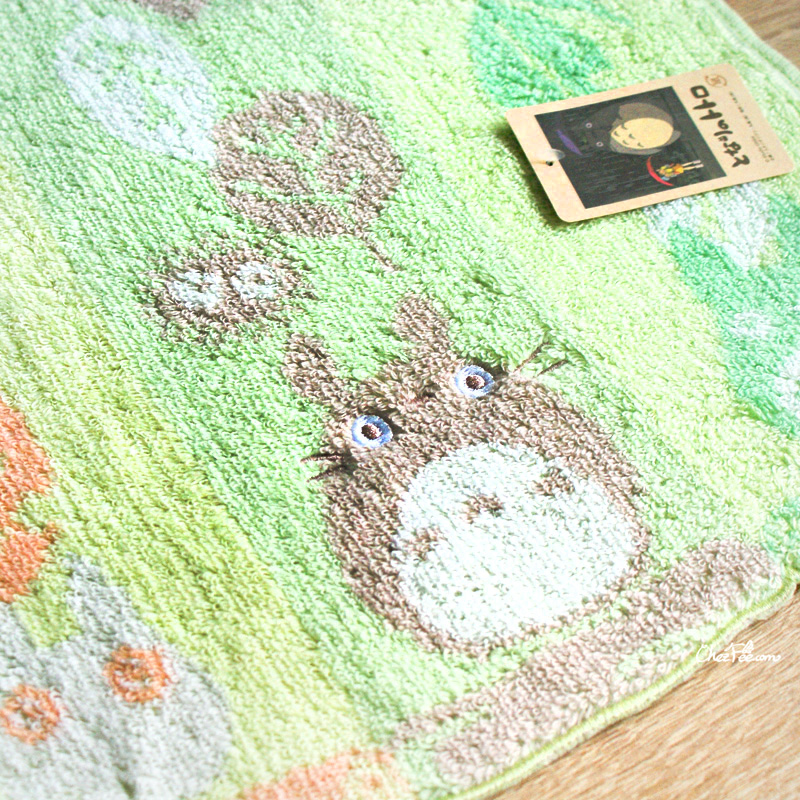 boutique kawaii shop france chezfee studio ghibli officiel totoro serviette feuille 3