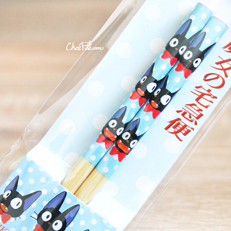 boutique kawaii shop chezfee studio ghibli officiel jiji bleu baguettes bambou made in japan 4