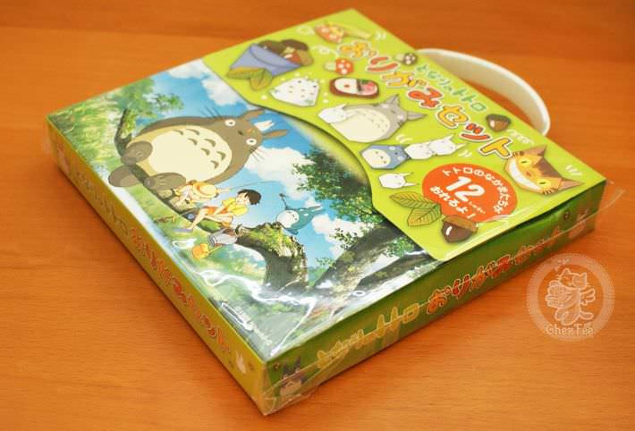 totoro ghibli officiel authentique boutique kawaii shop france chezfee com papier washi origami4