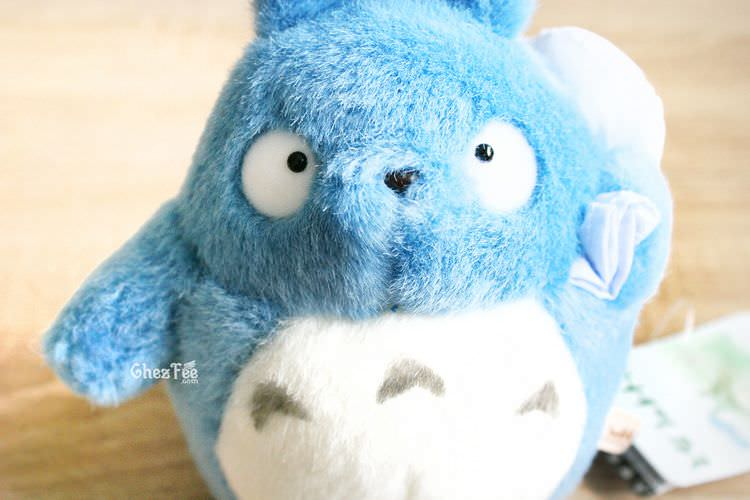 boutique kawaii chezfee com totoro studio ghibli peluche officiel authentique bleu s 4