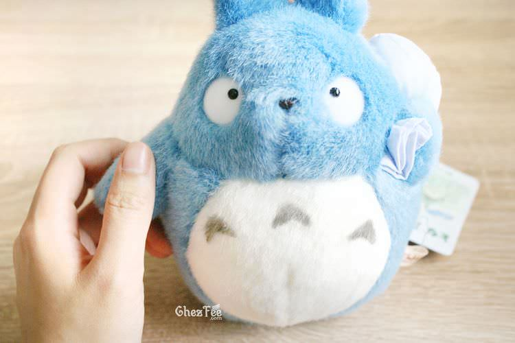 boutique kawaii chezfee com totoro studio ghibli peluche officiel authentique bleu s 5