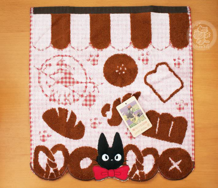 serviette nappe cotton kiki sorciere jiij chat noir ghibli officiel authentique boutique kawaii shop chezfee com boulanger2