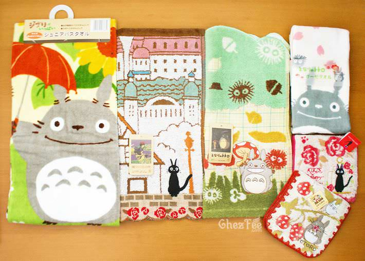 kawaii serviette nappe cotton totoro ghibli officiel authentique boutique kawaii shop chezfee 2