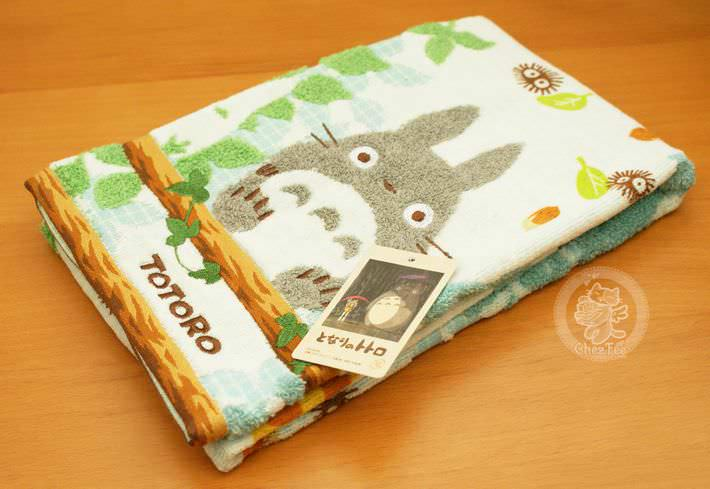 serviette nappe cotton totoro ghibli officiel authentique boutique kawaii shop chezfee com bois grande1