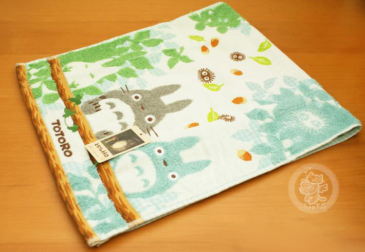 serviette nappe cotton totoro ghibli officiel authentique boutique kawaii shop chezfee com bois grande2