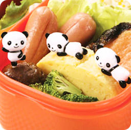 nouveaut s set de 8 piques kawaii bento ap ritif panda. Black Bedroom Furniture Sets. Home Design Ideas