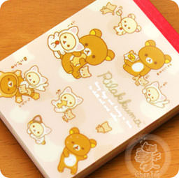 carnets cahiers agendas stylis s mini block note memo kawaii rilakkuma collection. Black Bedroom Furniture Sets. Home Design Ideas