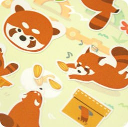 autocollant-mignon-sticker-boutique-kawaii-shop-cute-chezfee-com-animal-panda-roux-vert