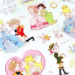autocollant-sticker-kawaii-mignon-conte-de-fee-cinderella-chezfee-boutique-magasin