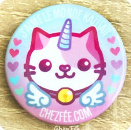 boutique-kawaii-chezfee-cute-shop-badge-chat-licorne-lolita-pastel