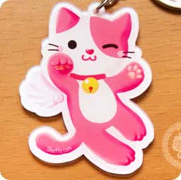 boutique-kawaii-cute-shop-en-ligne-mignon-chezfee-com-porte-cles-chat