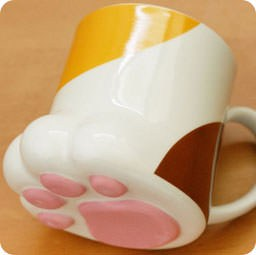 boutique-kawaii-en-ligne-chezfee-com-decoration-cuisine-japonaise-mignon-mug-patte-chat-tricolor