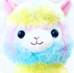 boutique-kawaii-lille-shop-en-ligne-mignon-chezfee-com-peluche-amuse-japonais-lama-alpaga-alpacasso-rainbow-grand-authentique