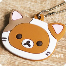 boutique-kawaii-officiel-chezfee-sanx-gashapon-porte-clef-chat-rilakkuma
