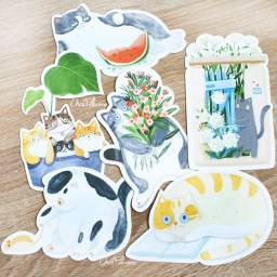 boutique-kawaii-shop-chezfee-carte-postale-postcard-chat-jardin-3