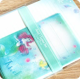 boutique-kawaii-shop-chezfee-disney-japon-papeterie-papier-lettre-ariel