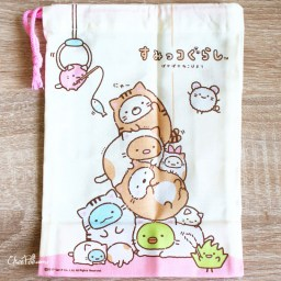boutique-kawaii-shop-chezfee-japan-pochon-sac-vrac-coton-sanx-sumikko-gurashi-chat-2
