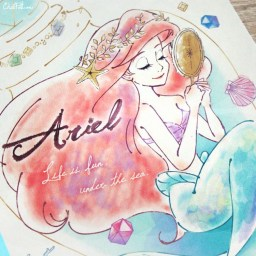 boutique-kawaii-shop-chezfee-papeterie-disney-japan-ariel-cahier-crystal-3