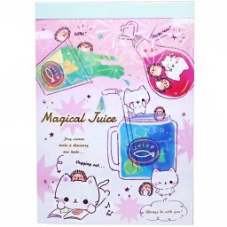 boutique-kawaii-shop-chezfee-papeterie-japonaise-carnet-memo-papier-lettre-chat-magical-juice-1