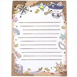 boutique-kawaii-shop-chezfee-papeterie-japonaise-carnet-memo-papier-lettre-chat-pirates-3