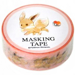 boutique-kawaii-shop-chezfee-papeterie-japonaise-masking-tape-washitape-sticker-pokemon-evoli-1