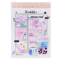 boutique-kawaii-shop-chezfee-papeterie-japonaise-mini-memo-pastel-bubble-tea-keshikko-1