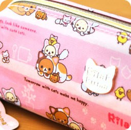 boutique-kawaii-shop-chezfee-trousse-stylo-kawaii-rilakkuma-san-x-chat-neko-rose