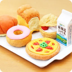 boutique-kawaii-shop-france-chezfee-cute-papeterie-gomme-eraser-iwako-japon-food-boulangerie