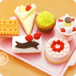 boutique-kawaii-shop-france-chezfee-cute-papeterie-gomme-eraser-iwako-japon-food-patisserie