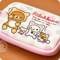 boutique-kawaii-shop-france-en-ligne-chezfee-com-cute-portemonnaie-pochette-japonaise-rilakkuma-chat-sanx-rose