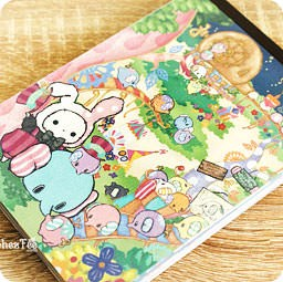 boutique-kawaii-shop-papeterie-japaonaise-chezfee-sanx-officiel-sentimental-circus-elephant-carnet-village