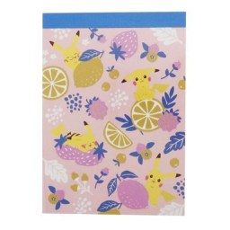 boutique-kawaii-shop-papeterie-japonaise-carnet-mini-memo-papier-lettre-pokemon-pikachu-fruits-1