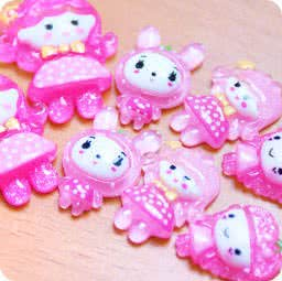 loisir-creatif-diy-accessoir-decoration-cabochon-decoden-mignon-boutique-kawaii-en-ligne-chezfee-lot-fille-rose