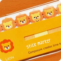 papeterie-magasin-boutique-kawaii-shop-en-ligne-chezfee-com-sticky-note-kawaii-animal-mimi-lion